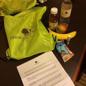 Doubletree Hotel Big Cottonwood Marathon Race Swag