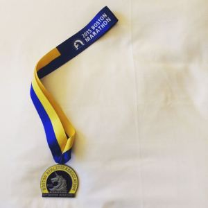 IMG_0093The 2015 Boston Marathon Finisher's Medal