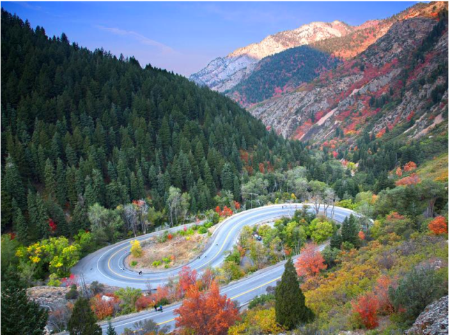 Big Cottonwood Marathon S Curve