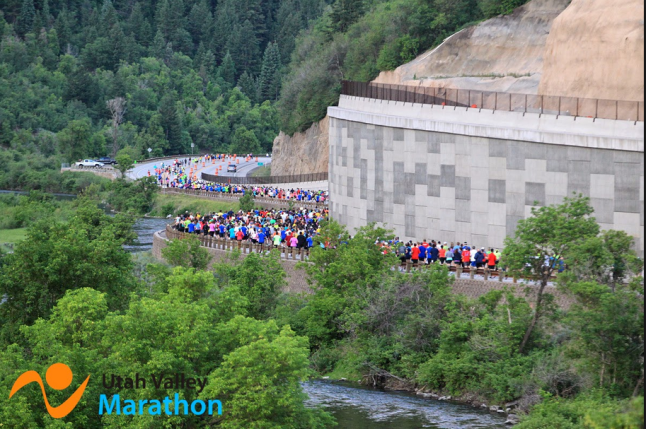 Utah Valley Marathon (Photo Courtesy of the Utah Valley Marathon)