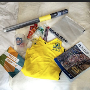 2015 Boston Marathon Race Bag Swag
