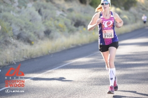 REVEL race shot of me on the Big Cottonwood Marathon Course