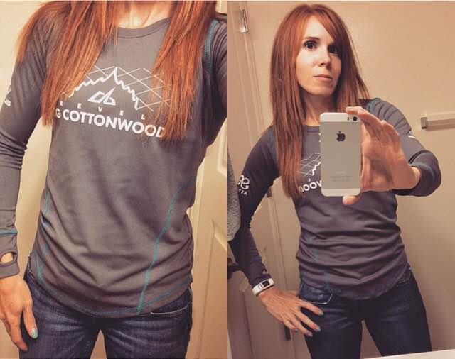 2015 Big Cottonwood Marathon Race Shirt--Love it!