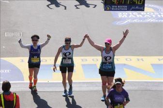 Ran the last mile with my friend, Natalie Brown.
