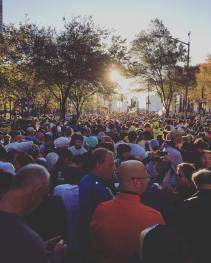 Abbott Dash to the Finish Line 5K Start