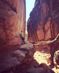 My oldest--turned 13 while we were there--in the Fiery Furnace
